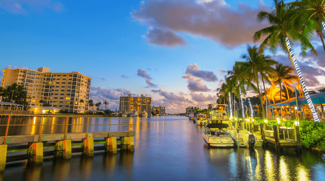 Intracoastal Waterway Delray Beach